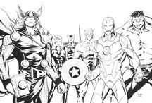 Avengers: Disegni da Colorare / Guarda tutti i disegni da colorare degli Avangers www.bambinievacanze.com