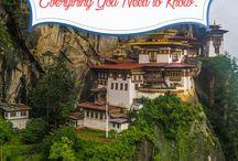 Cestování-Bhútán,Mongolsko,...