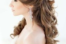 Meaghans wedding day hair & makeup ideas / by Kathleen DeVitto