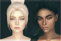 sims cc m and F