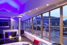 penthouse interiors / penthouse interior design  penthouse design specialists based in London  Award Winning Penthouse Designers UK www.q-mc.co.uk