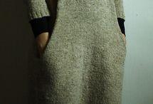 Jurtuniek / Grijze jurk