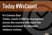 10th Annual #DVcounts Census / For the 10th consecutive year, on Sept. 16, 2015, NNEDV conducted a 1-day unduplicated count of adults & children seeking domestic violence services at nearly 2,000 local programs across the United States. Learn more at NNEDV.org/Census / by NNEDV