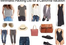 Travel - Packing List / travel, tips, packing, vacation, clothing, style, essentials, summer, mom, moms, California, hot