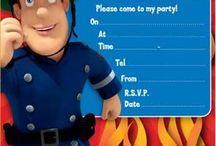 Feestje uitnodigingen