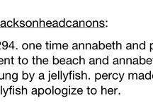 Percabeth Headcanons