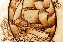 lettering & tattoos