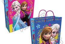 Bolsas Regalo Frozen / Línea Envoltura Primavera