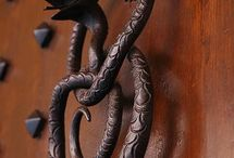 Doors Knockers & Knobs / by sandy r