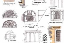 sketching / interior architecture,architecture,furniture... / by Rümeysa Sezmiş