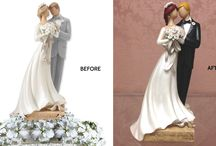 Custom Cake Toppers / Check out our custom creations!