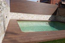 Tarimas sintéticas de exterior / Comprar tarima sintética exterior Barcelona