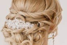 Big Day Looks / Some great examples of stunning wedding day hair and make up looks!