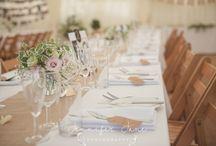 Weddings // Table Settings