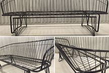 Vintage Homecrest Wrought Iron / Wadena, MN has been home for the Homecrest Outdoor Living furniture manufacturer for nearly 60 years. Homecrest's Vintage Wire collection is still gracing the patios of many homes!   http://www.homecrest.com/Vintage/