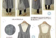 Платье-фартук