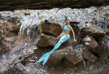Faeries & mermaids in the backyard