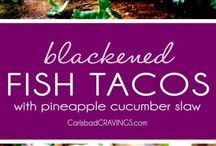 Tacos, fish