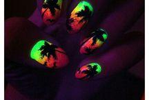 Happy Nails / Je ziet leuke dingetjes wat je op je nagel kan doen
