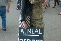 Military wife= military life / by Brett Zima