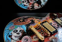 Amazing Guitars - Magnifiques Instruments - Guitare Custom / Guitare ou basse, les instruments coups de cœur de l'équipe MyMusicTeacher ! Des modèles custom, deluxe, painted, guitar Art.  --  Amazing guitars or bass our team fell in love with. In this board you'll find rare, custom, vintage, deluxe, carved and painted guitars.
