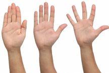 Käden ja jalkapohjien terveys/sairaus kertomaa