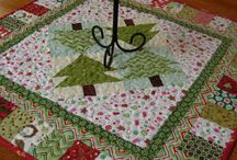 Christmas table runner ideas / by Jean White