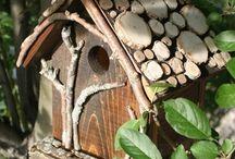 Gardening - Bird Houses and Bird Feeders