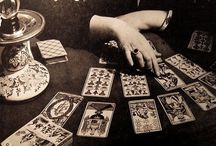 Esoteric Inspiration / Modern and historical imagery of Tarot, fortune telling, palmistry, the esoteric and their female practitioners.