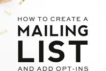Mail Man / How to create, manage and make amazing mailing lists and newsletters your subscribers will LOVE!