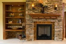 Torrison Stone & Garden Fireplaces (Interior) / Check out some of the work we've done for clients INDOORS, like these great fireplaces, including some before and afters.