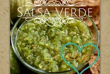 Salsas, Dips, Dressings and Sauces / Recipes and serving ideas for salsas, dips, dressings and sauces.