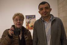 Presentación de la exposición 'Tristes Armas. Josep Renau y Martha Rosler ante la guerra' / Rueda de prenda y visita a la exposición