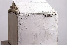 Cy Twombly's sculptures