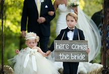 The Kids Are Alright! / Children bridal attendants, flower girls and ring bearers!