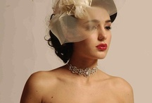 Breeziway & Katerina Bocci Collaborations / Gowns by Katerina Bocci with headpieces/hats by Sandra of Breeziway.