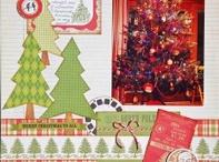 Scrapbook layout- Christmas