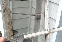 DIY-Windows and Frames / by Sarah Peterson