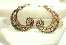 Handmade Brass Jewelry / Sri Shyam Creations started with an idea and now i own handmade brass jewelry workshop