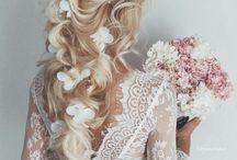 Vigne de cheveux coiffure mariage