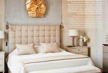 Pale pink bedrooms