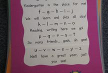 Kindergarten Language Arts / by Jennifer Piel