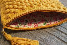 Pretty Snail Crochet Bags ♡