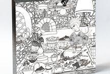 A COZINHA MEDIEVAL / A cozinha medieval compreende os hábitos de preparação e conservação dos alimentos na Idade Média - período entre os séculos V ao XV. A comida era indicador de status social: as carnes significavam prestígio, especialmente a bovina - porco e frango eram mais populares. A Cozinha Secreta apresenta a Cozinha Histórica Medieval, ilustração da artista Marican, com receita do chef Ivan Achcar - criador do Alma Cozinha (São Paulo/SP) e apresentador do programa Cozinheiros em Ação, no Canal GNT.
