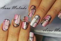 Великолепие дизайна ногтей