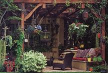 backyard ideas / by Anna Maria Whetstine