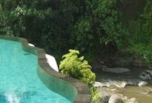 C. Pools to love