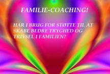 FAMILIE-COACHING! / HAR I BRUG FOR STØTTE TIL AT SKABE BEDRE TRYGHED OG TRIVSEL I FAMILIEN? Læse på Hjemmeside. www.jssgalleri.dk