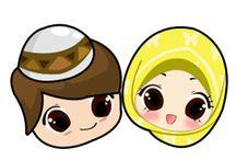 cute muslima stickers