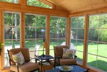 Eze-Breeze 3-Season Rooms Chicago Area / If you want to get the most out of your screened room, have us add Eze-Breeze vinyl 4-track windows to your room. These windows are strong, ultra clear, easy to clean and keep both allergens and some colder weather at bay.